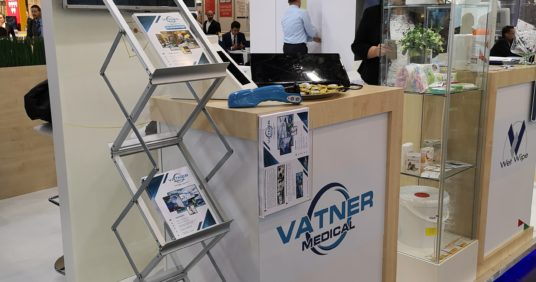 Vatner Kft. at the Medica 2018 exhibition