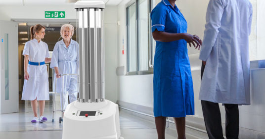 Get to know the new generation of disinfection! Our new partner is the UVD Robots!