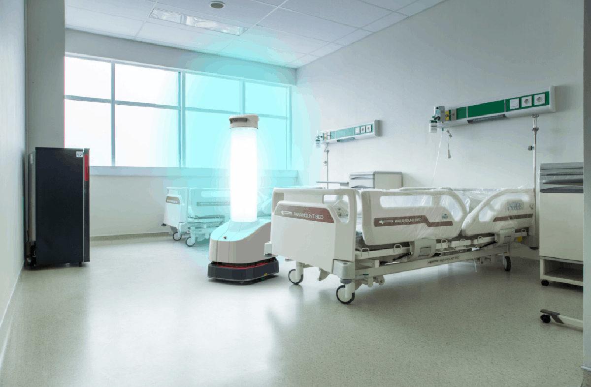 UVD Robot a Sátoraljaúlhelyi kórházban
